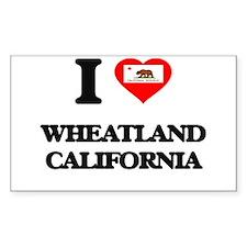 I love Wheatland California Decal
