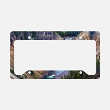Lower Falls Yellowstone License Plate Holder