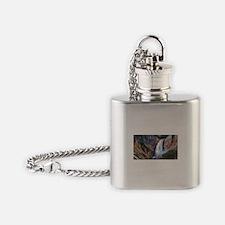 Lower Falls Yellowstone Flask Necklace
