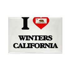 I love Winters California Magnets