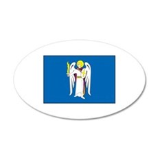 Kiev Ukraine Flag Wall Decal