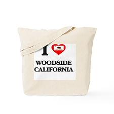 I love Woodside California Tote Bag