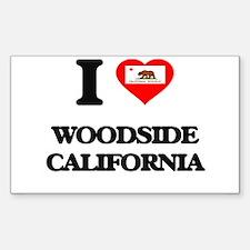 I love Woodside California Decal