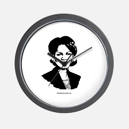 Condoleezza Rice / Great in 2008 Wall Clock