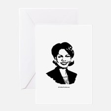 Condoleezza Rice / Great in 2008 Greeting Card