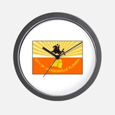 Jacksonville Florida Wall Clock