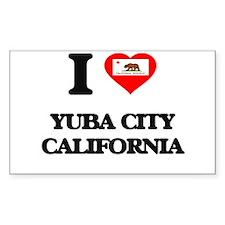 I love Yuba City California Decal