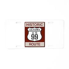 Highway 99 California Aluminum License Plate