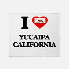 I love Yucaipa California Throw Blanket