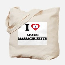 I love Adams Massachusetts Tote Bag