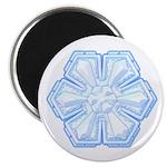 "Flurry Snowflake II 2.25"" Magnet (100 pack)"