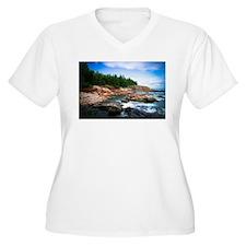 Acadia National Park Plus Size T-Shirt