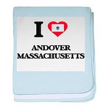I love Andover Massachusetts baby blanket