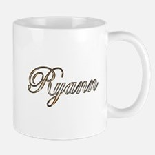Gold Ryann Mugs