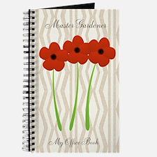 Master Gardener Florist Crafts Hobby Journal