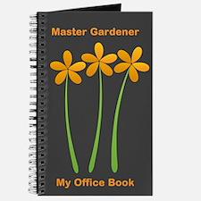 Master Gardener Florist Nature Hobby Journal