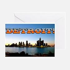 Detroit City Greeting Card