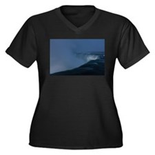Niagara Falls in Winter Plus Size T-Shirt