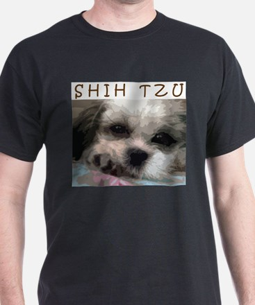 Shih Tzu Art T-Shirt