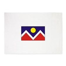 Denver, Colorado USA 5'x7'Area Rug