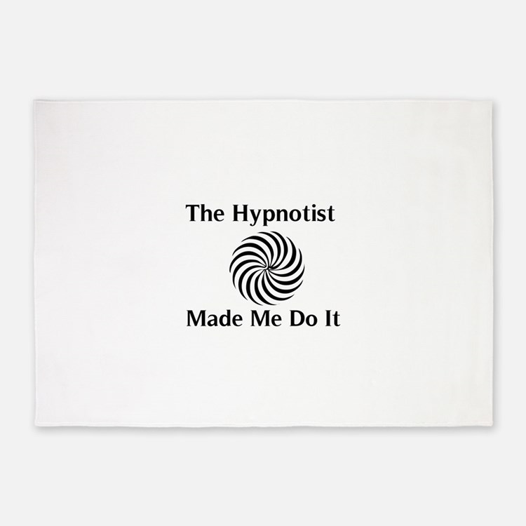 The Hypnotist Made Me Do It 5'x7'Area Rug