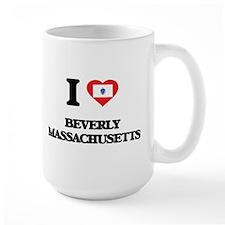 I love Beverly Massachusetts Mugs