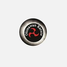 Okinawan Karate Symbol Mini Button