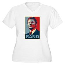 Rand Poster Plus Size T-Shirt