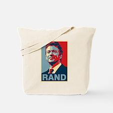 Rand Poster Tote Bag