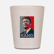 Rand Poster Shot Glass