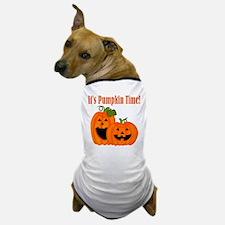It's Pumpkin Time Dog T-Shirt