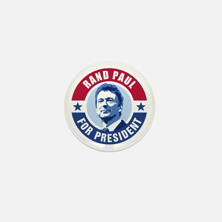 Rand Paul Retro Mini Button
