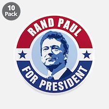 "Rand Paul Retro 3.5"" Button (10 pack)"