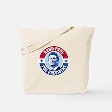Rand Paul Retro Tote Bag