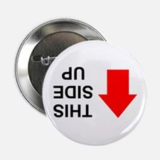 """THIS SIDE UP 2.25"""" Button (10 pack)"""