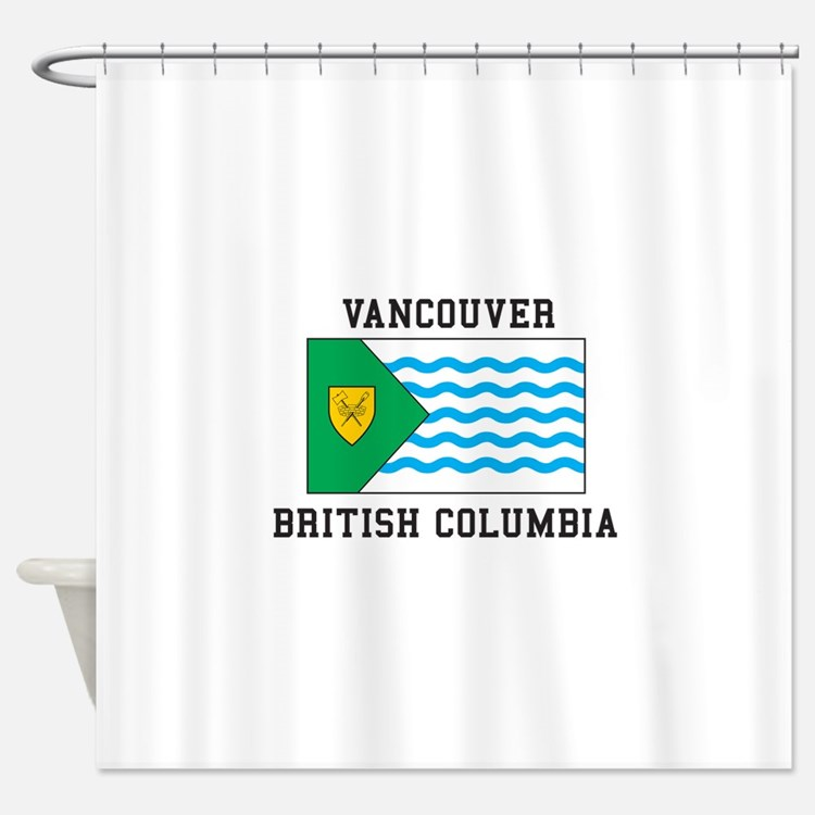 Vancouver, British Columbia Shower Curtain
