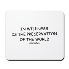 Wildness Mousepad