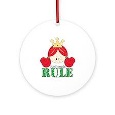 Redheads Rule Redhead Ornament (Round)