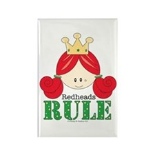 Redheads Rule Redhead Rectangle Magnet