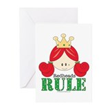 Redhead Greeting Cards (10 Pack)