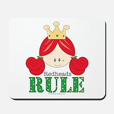 Redheads Rule Redhead Mousepad