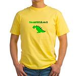 GRUMPASAURUS Yellow T-Shirt