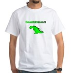 GRUMPASAURUS White T-Shirt