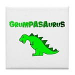 GRUMPASAURUS Tile Coaster