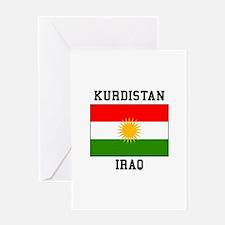 Kurdistan Iraq Greeting Cards