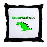 GRUMPASAURUS Throw Pillow