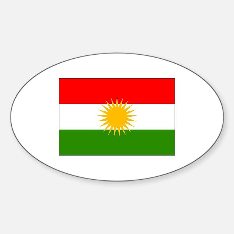 Kurdistan Iraq Flag Decal