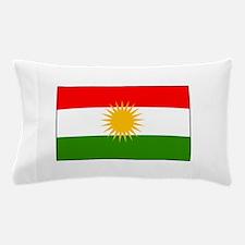 Kurdistan Iraq Flag Pillow Case