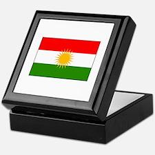 Kurdistan Iraq Flag Keepsake Box