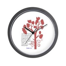 planted Wall Clock